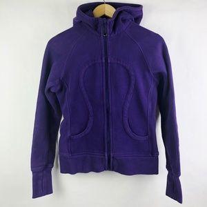 Lululemon Scuba Hoodie Zip Up Dense Purple Size 6